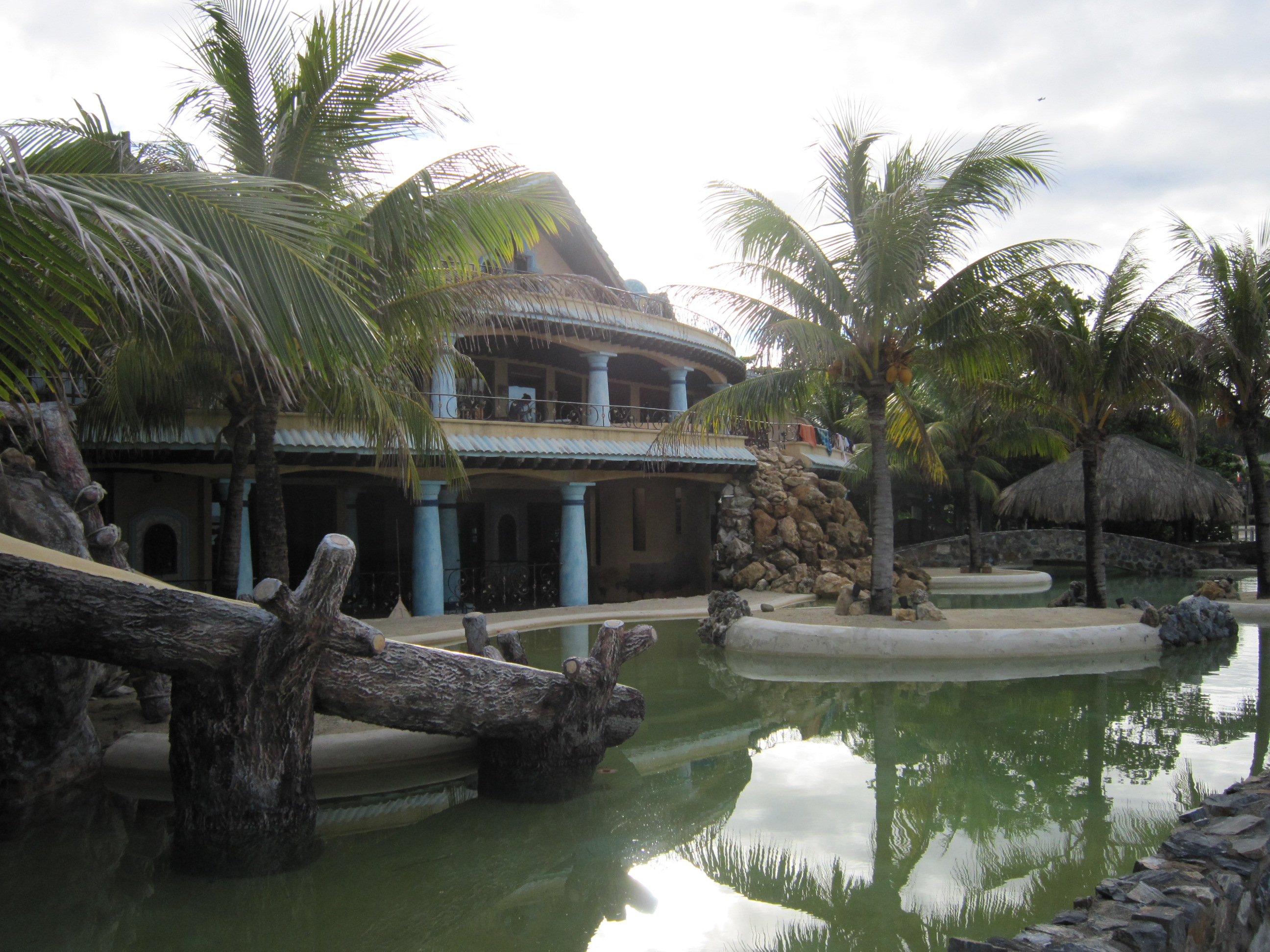 I cottage del resort Las Rocas Roatan