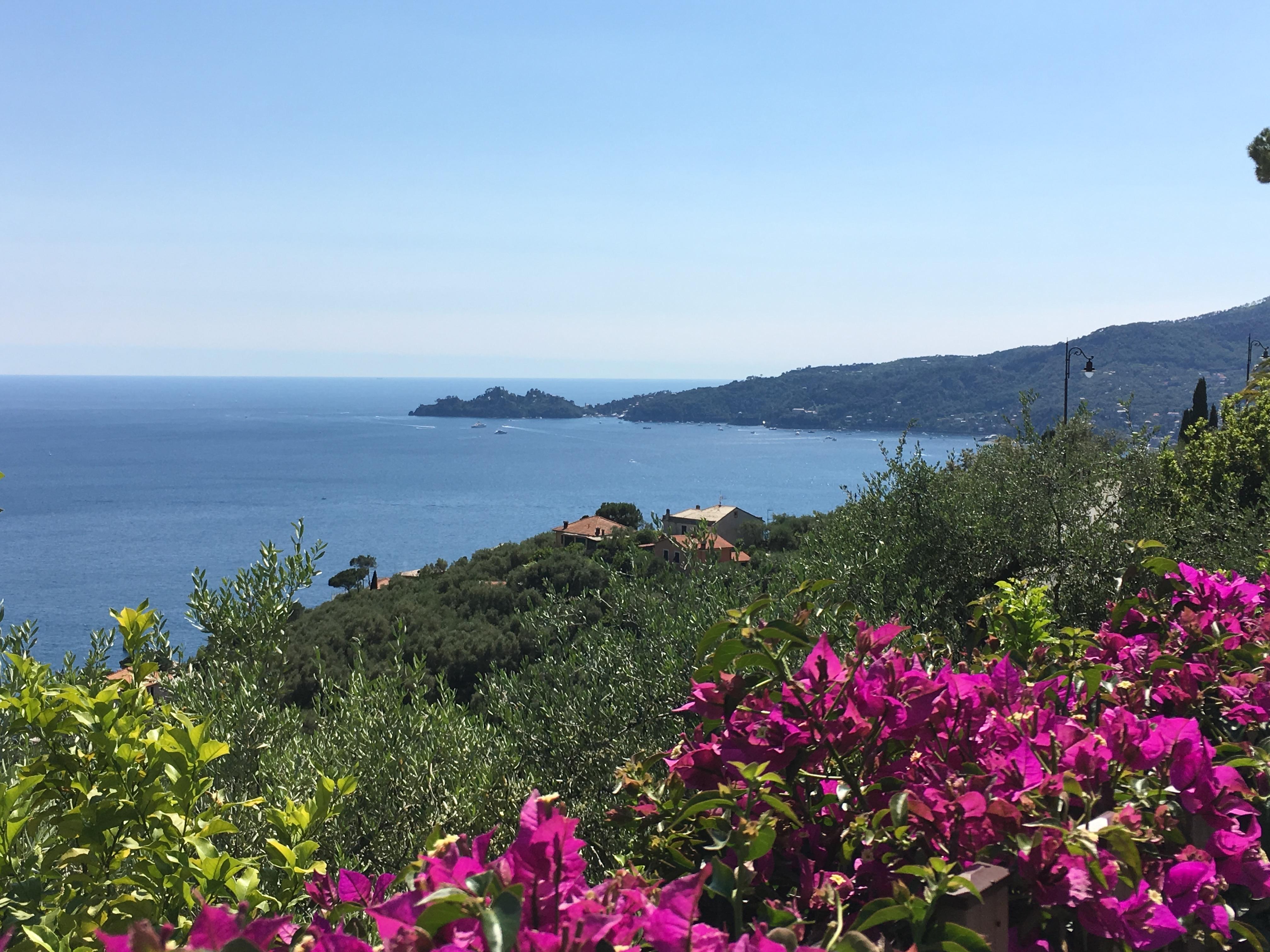 La punta del Faro di Portofino