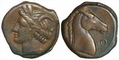 Moneta ritrovata a Cala Tramontana