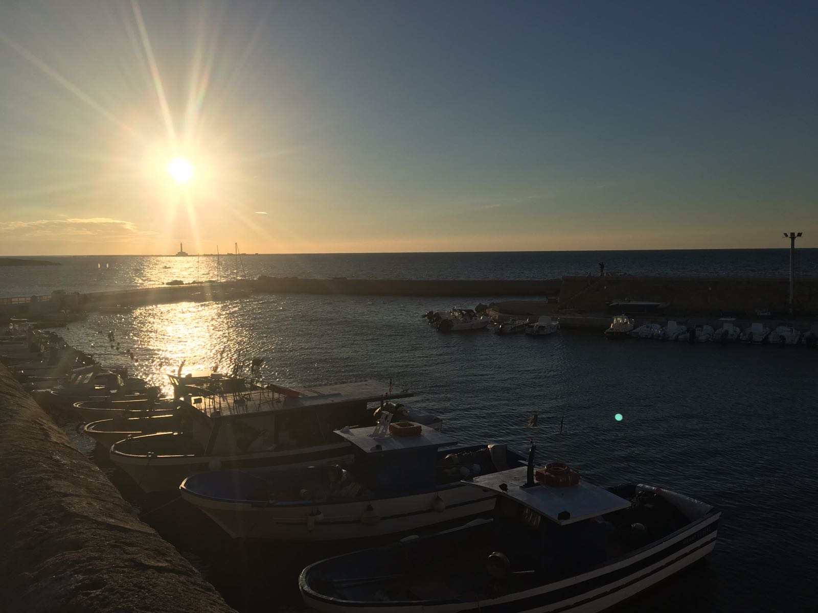 Gallipoli tramonto isola di Sant'Andrea