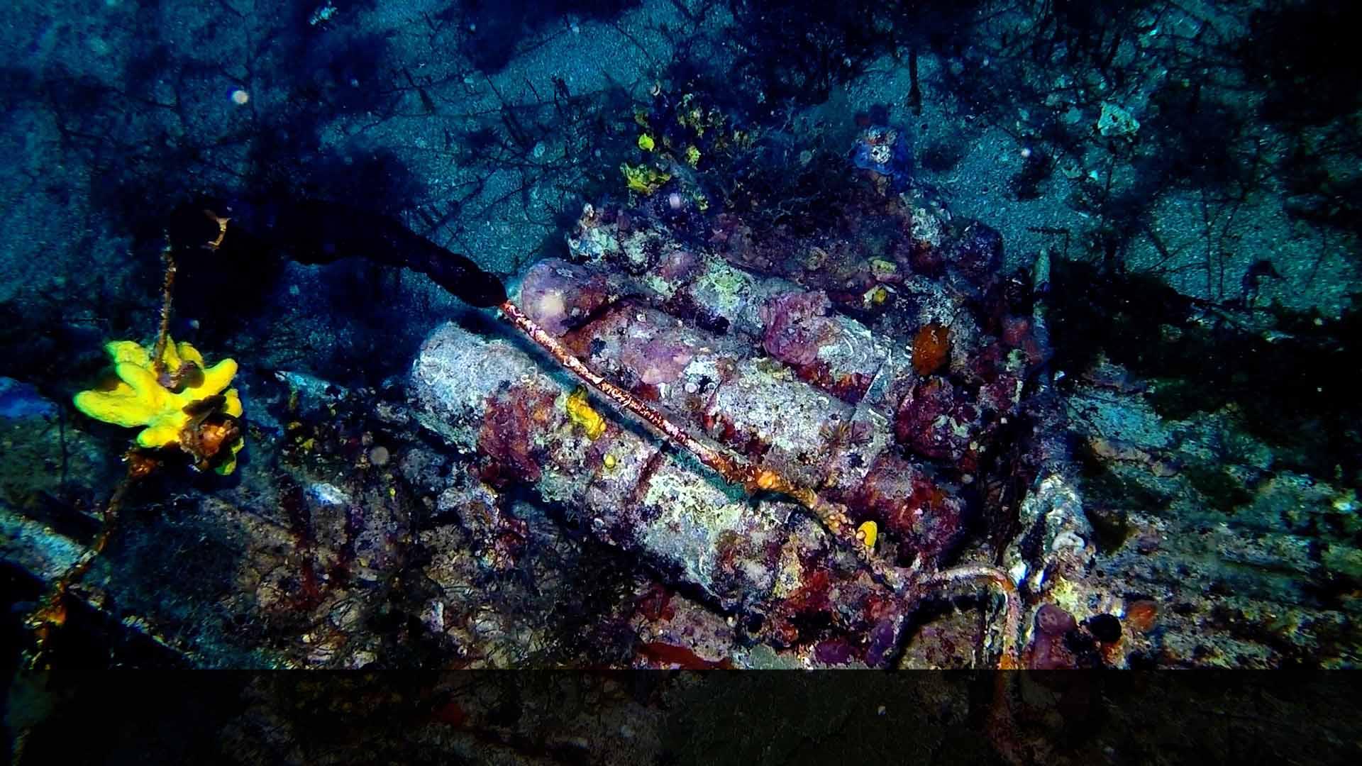 Junker 88 di Santa Caterina bombole di ossigeno