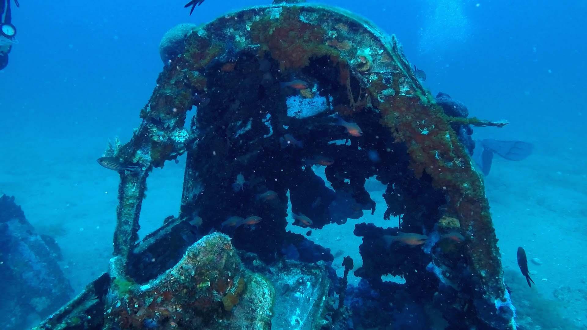 Junker 88 di Santa Caterina cabina di pilotaggio