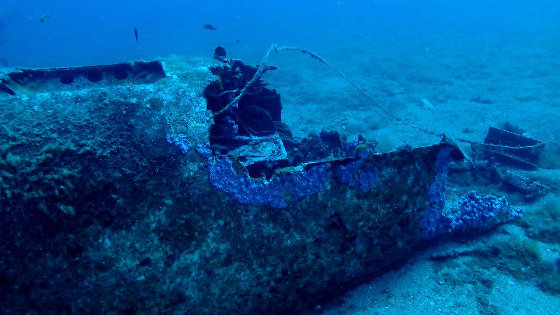 Junker 88 di Santa Caterina lo squarcio sulla fusoliera