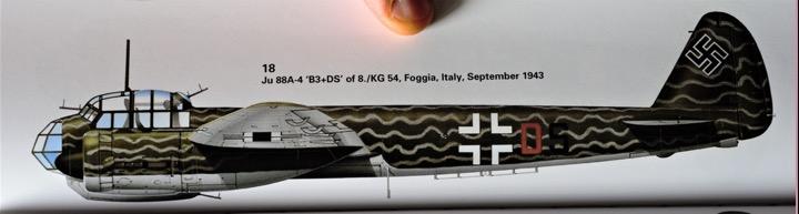 Particolare di JU88 dello stormo KG.54