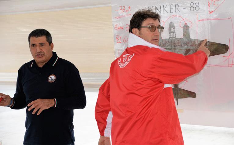 """I capi progetto: Claudio Grazioli ed Eugenio """"Faraone"""" Greco"""