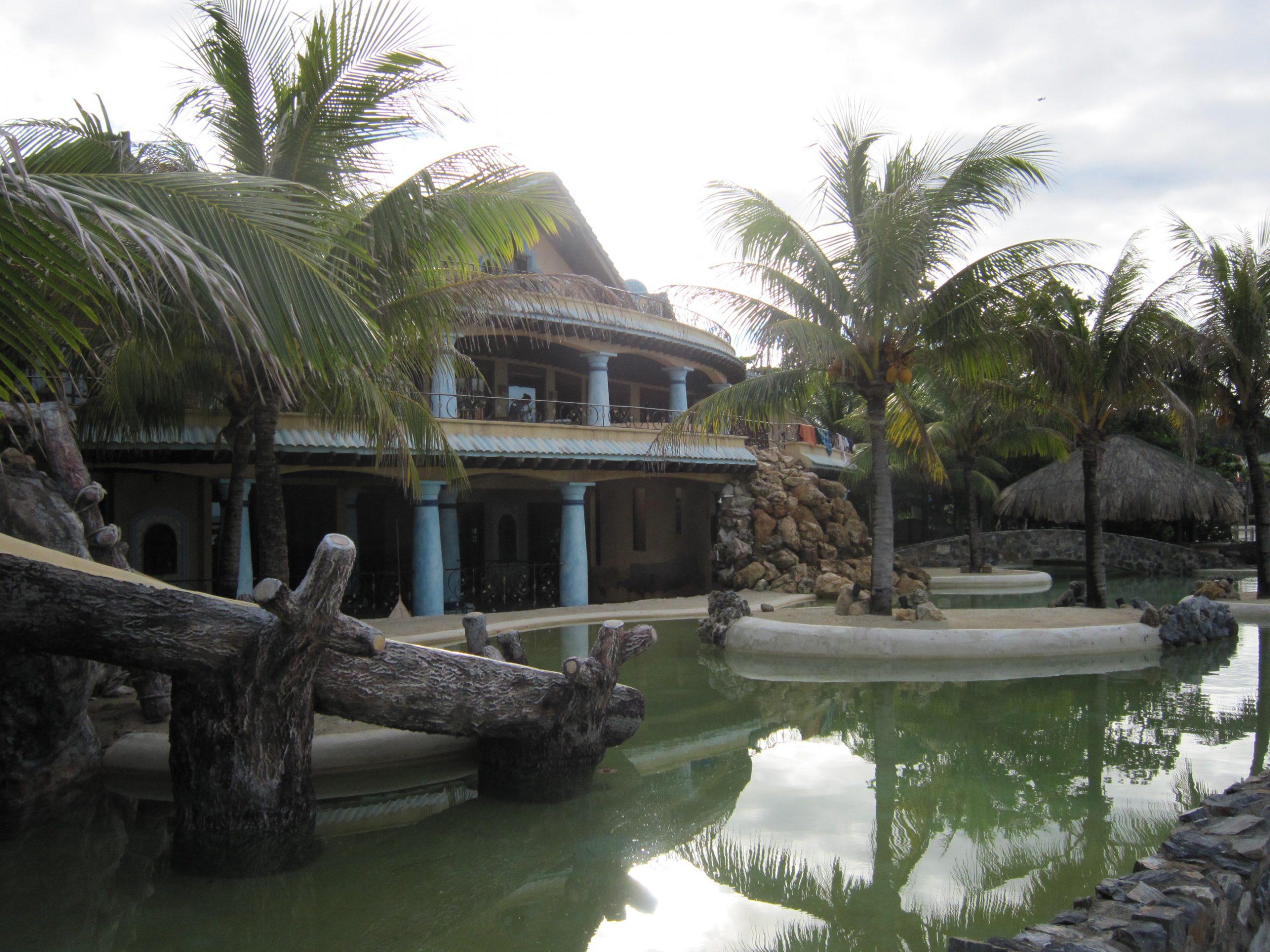 I cottage del resort Las Rocas Roatan