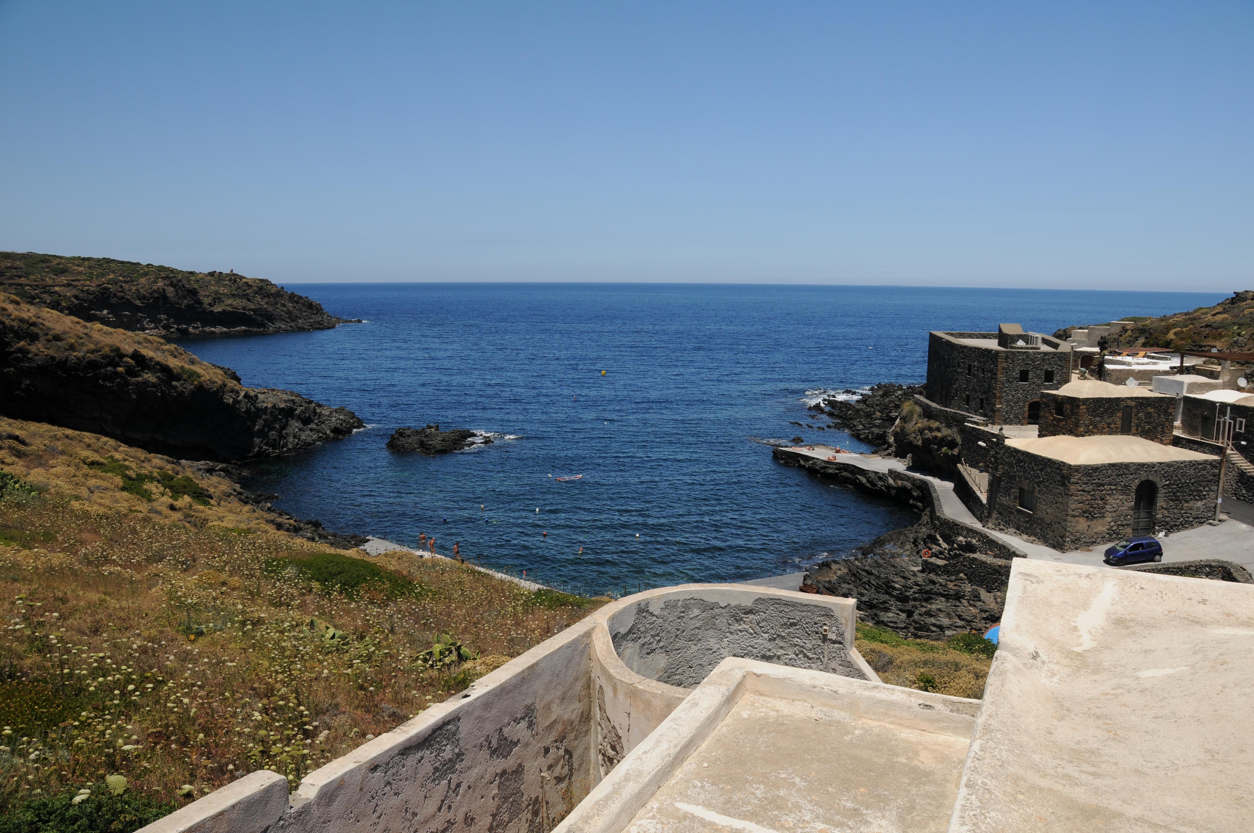 Cala Tramontana a Pantelleria