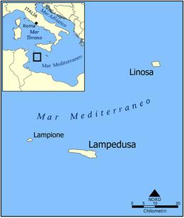 Mappa Isole Pelagie