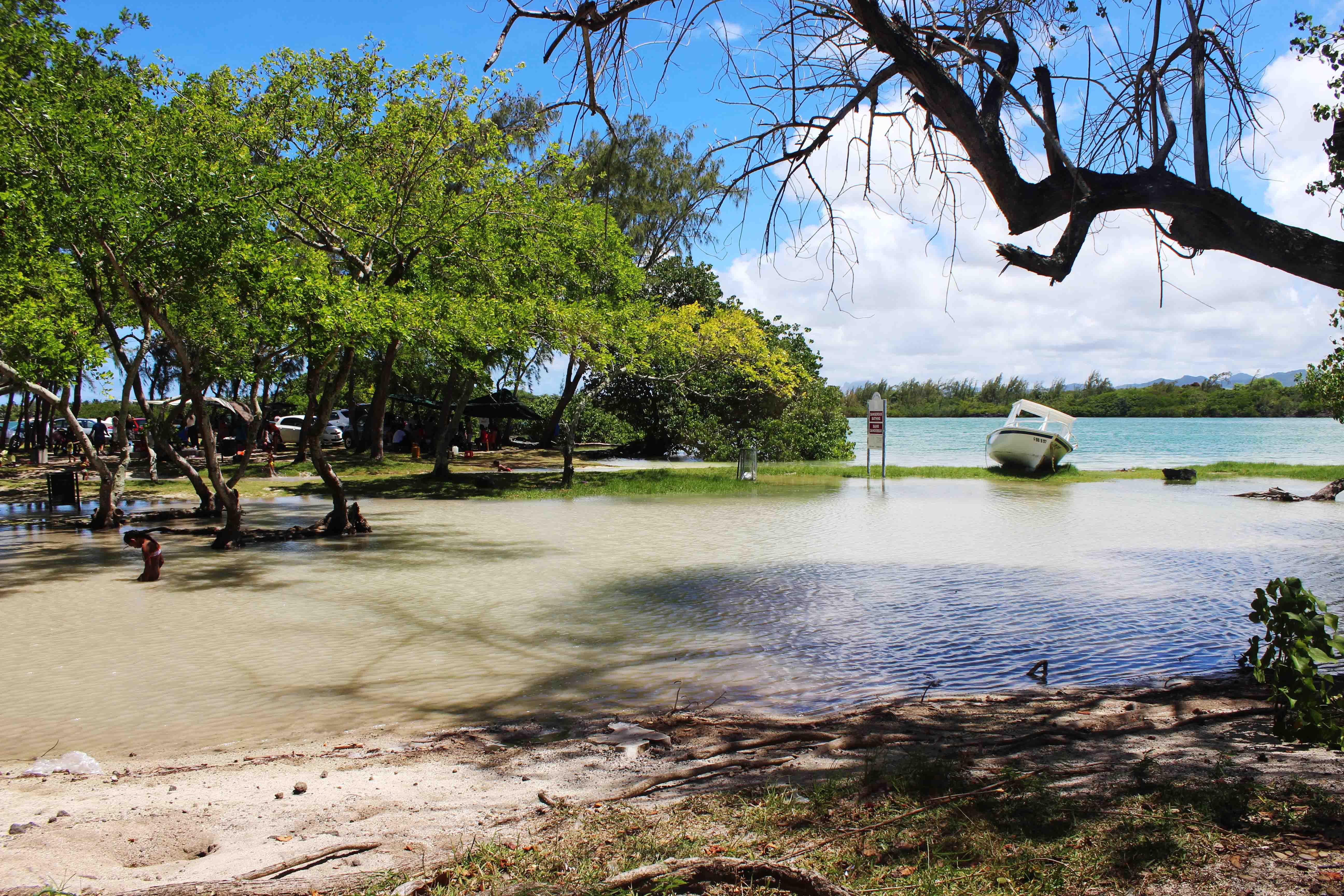 Mauritius saline di Tamarin