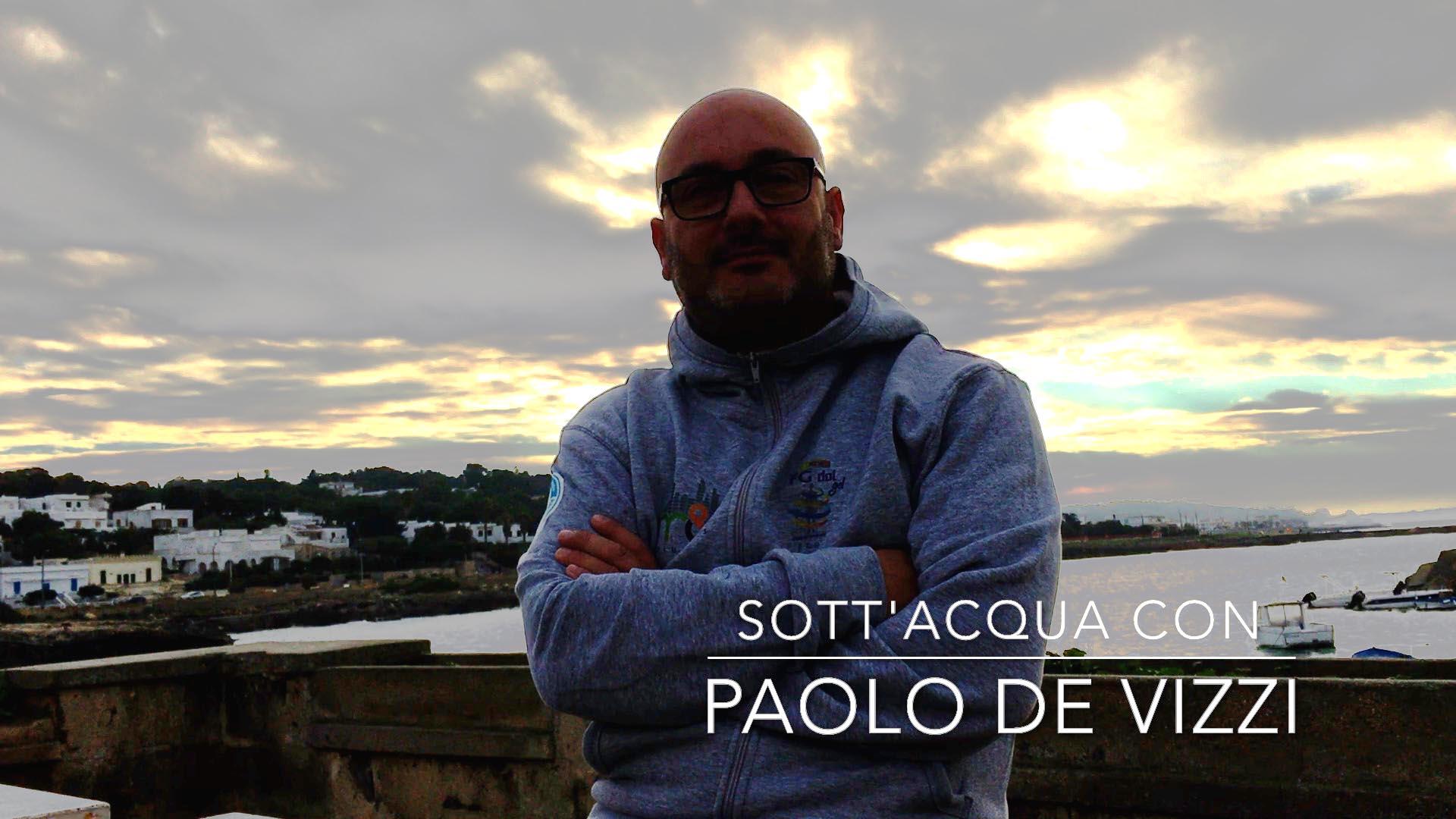 Sott'acqua con Paolo De Vizzi