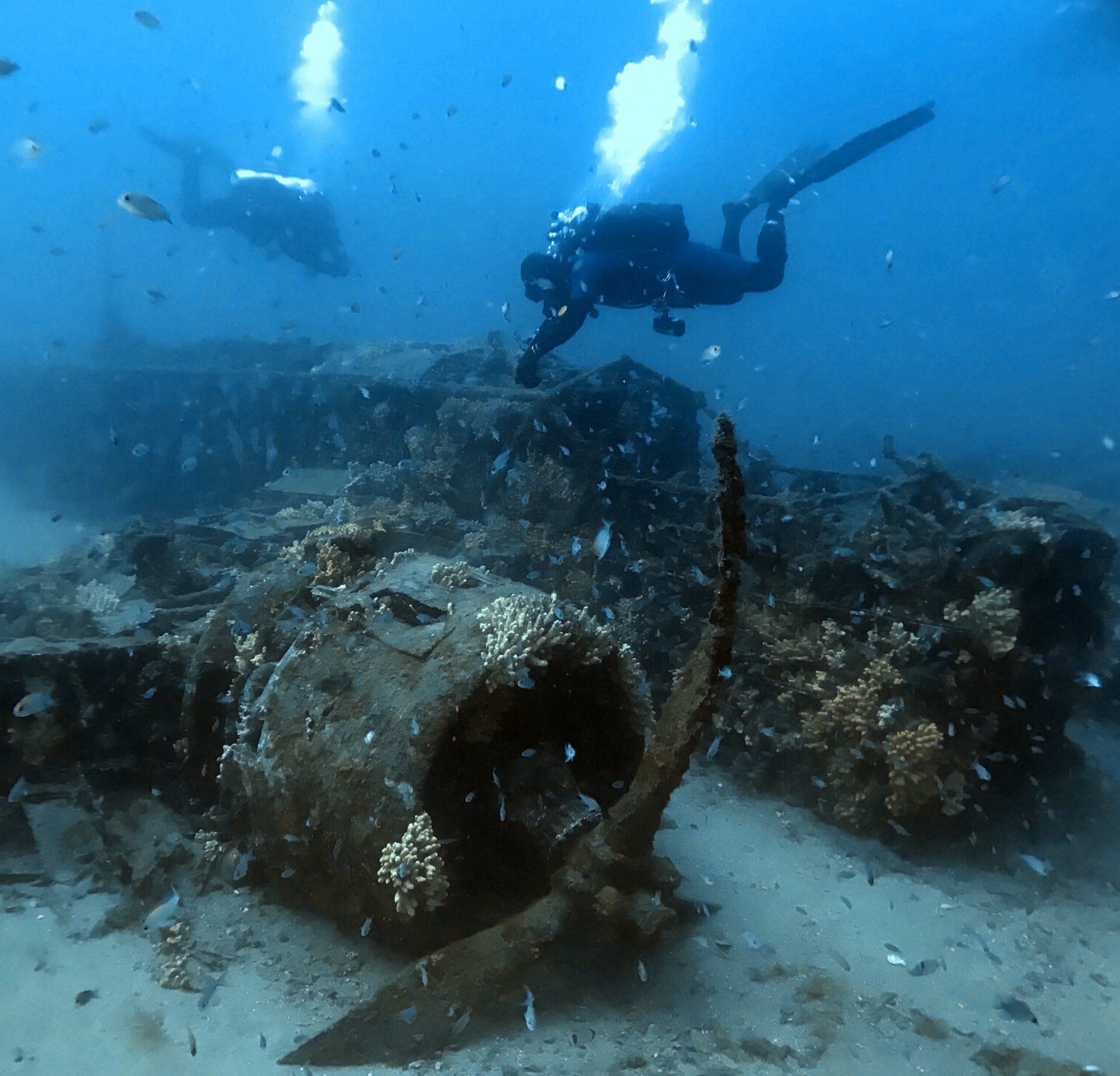 Il BR20 è diventato una meta per i subacquei tecnici