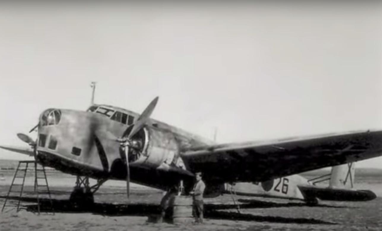 Il BR20 Cicogna, un bombardiere medio bimotore, prodotto dalla FIAT