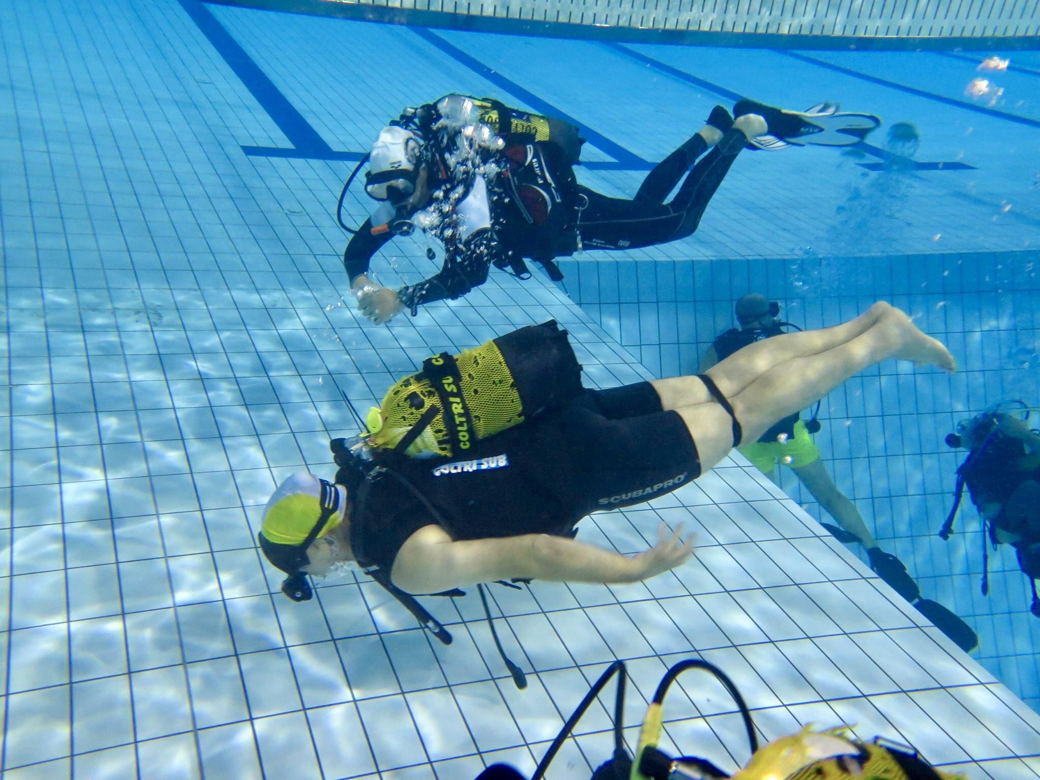 Per Roberto Bottini l'insegnamento è il vero driver della sua vita subacquea