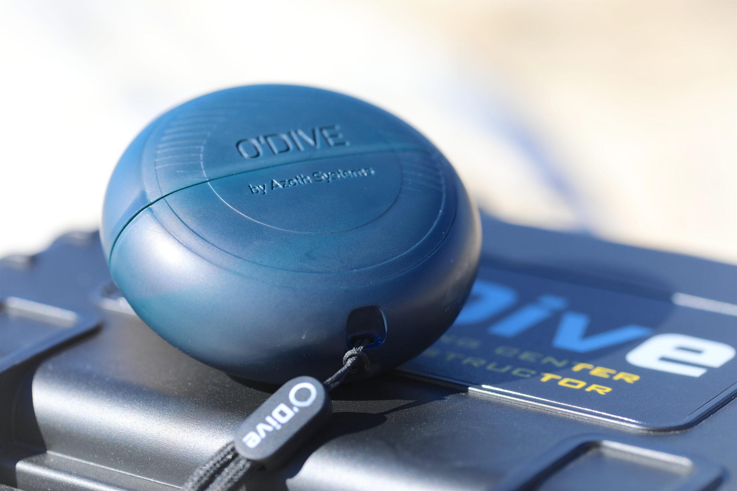 O'Dive, un sistema innovativo che permette di personalizzare le proprie immersioni.