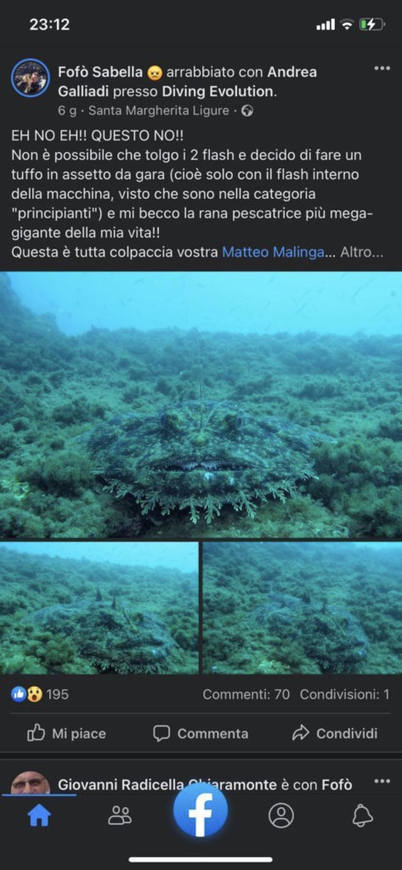 Altre beffe della rana pescatrice