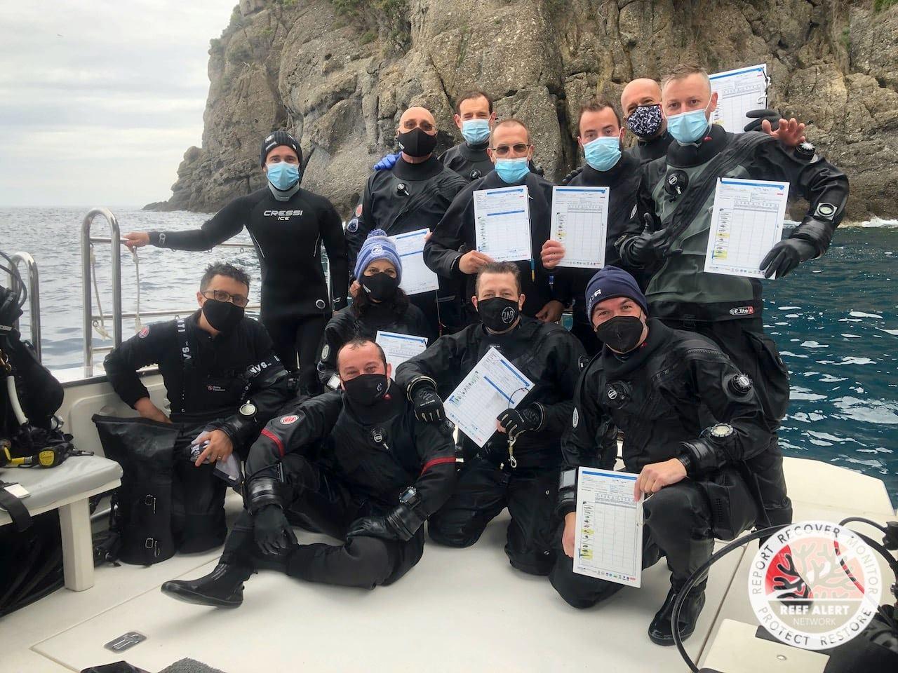 MPA-Engage: gli effetti dei cambiamenti climatici: sub in barca