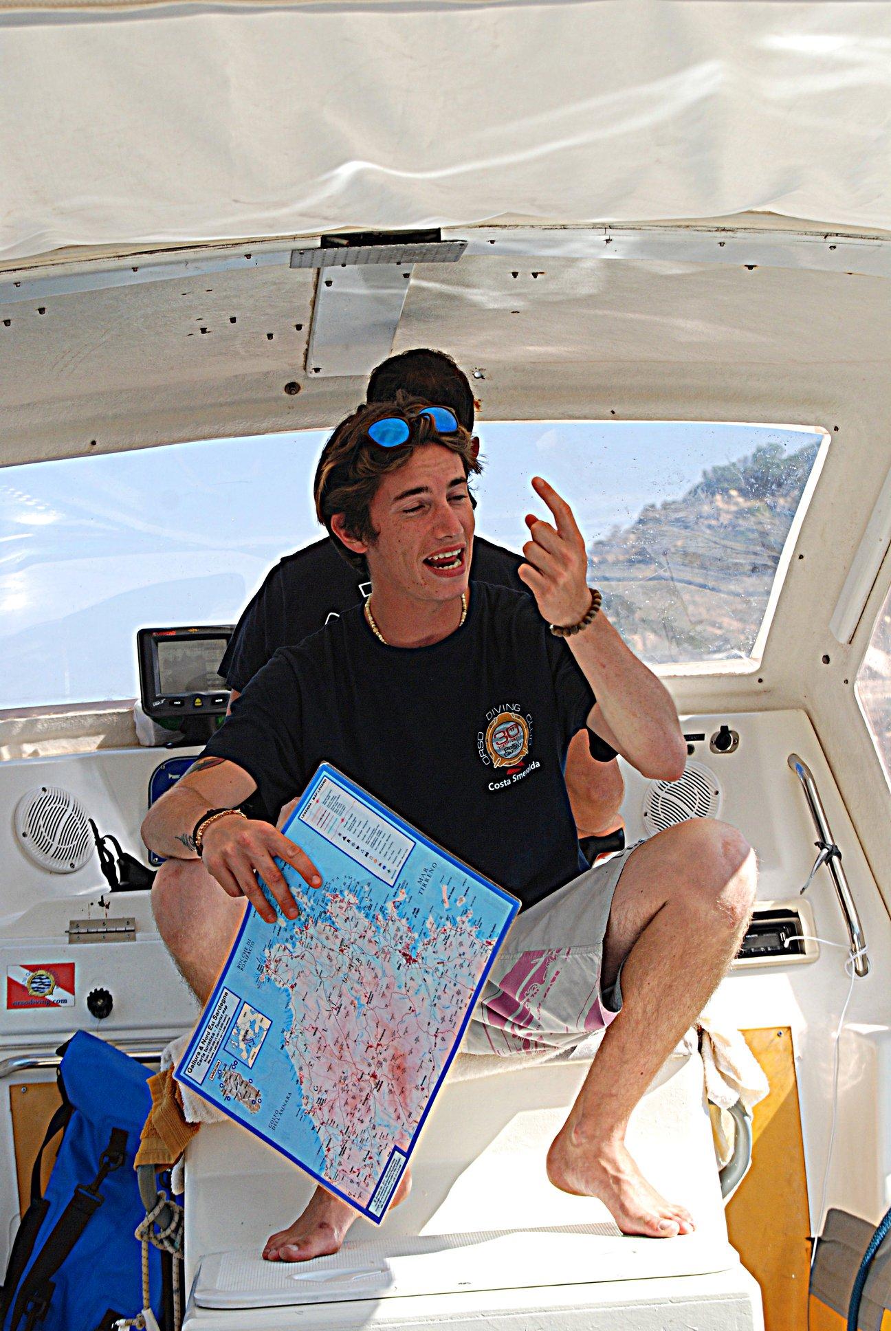 Luca Boschi: MASSUB diving center Portofino