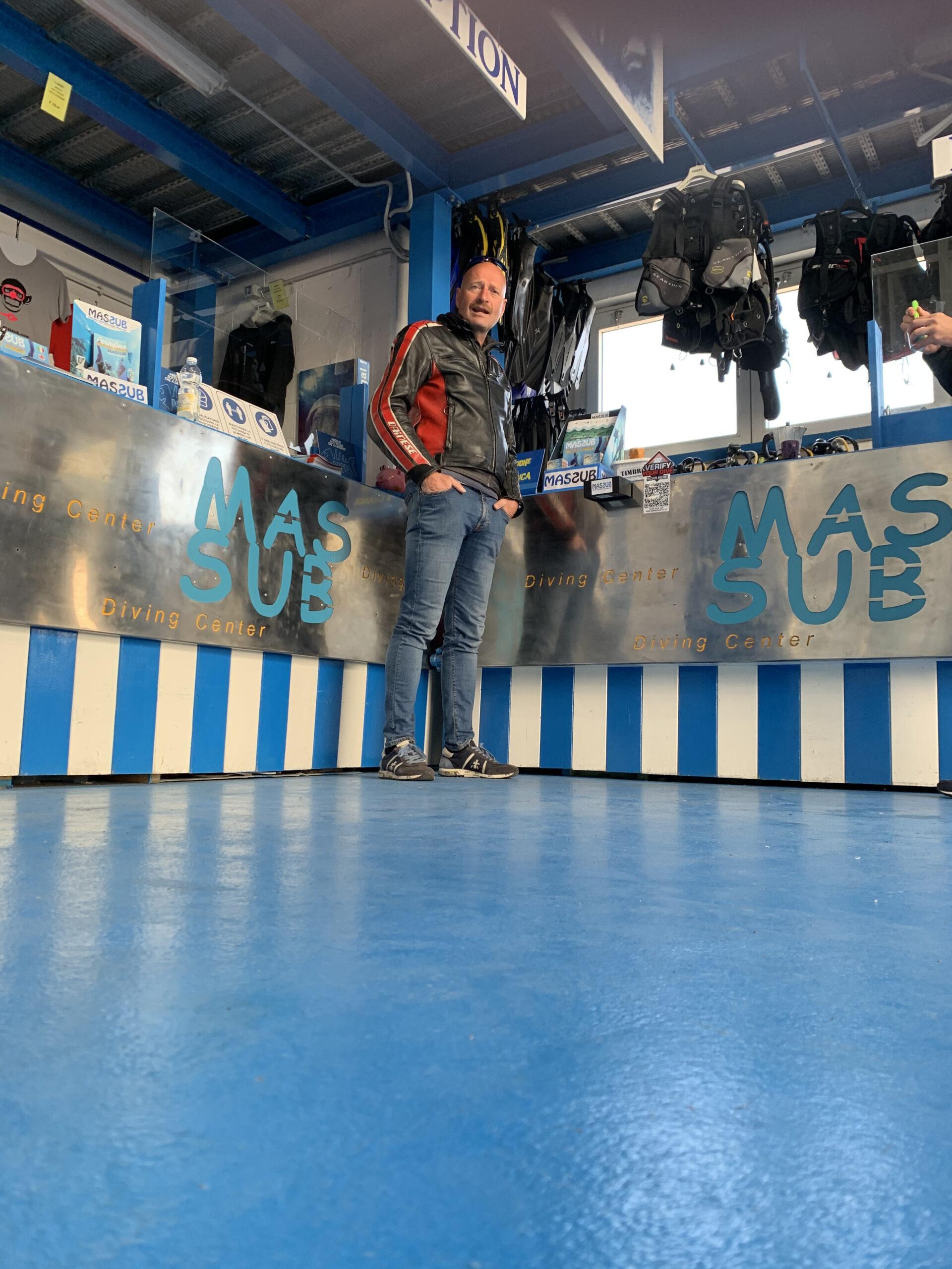 MASSUB diving center Portofino