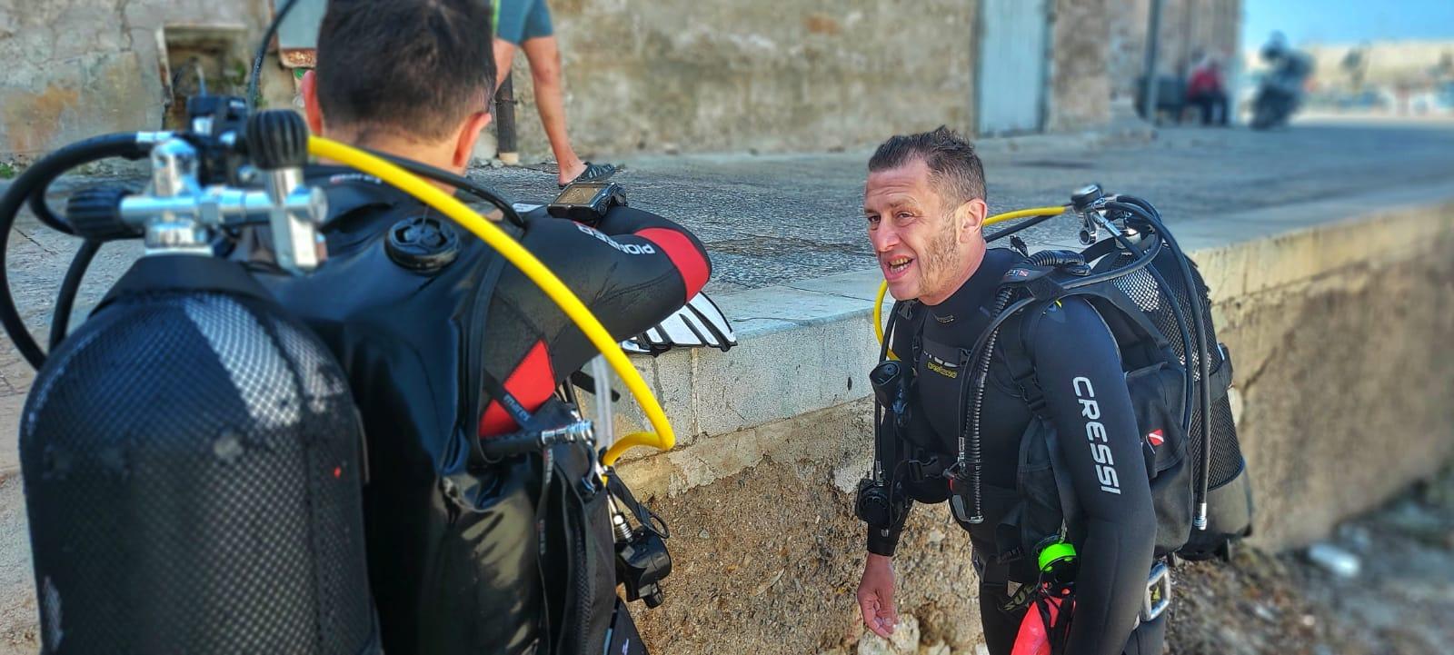esame istruttori subacquei